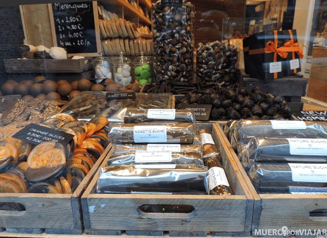 Es muy difícil resistirse con estos manjares de chocolate belga