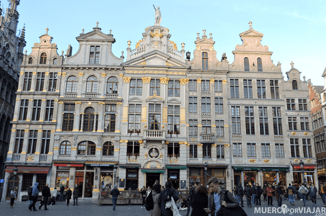 Grand Place de Bruselas - Bélgica