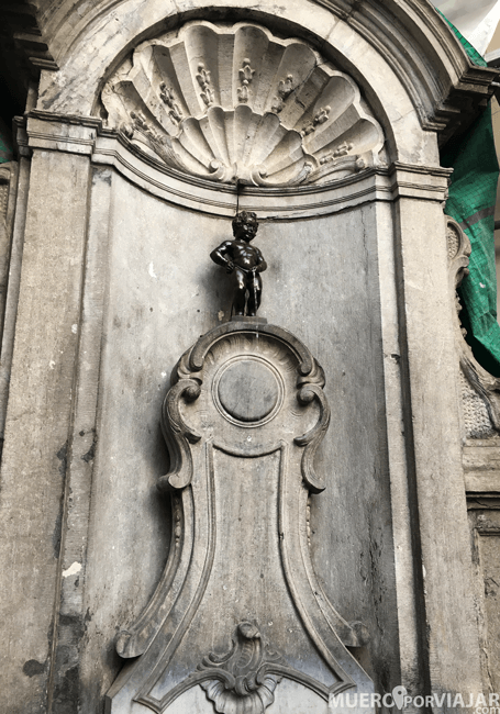 Manneken pis de Bruselas - Bélgica