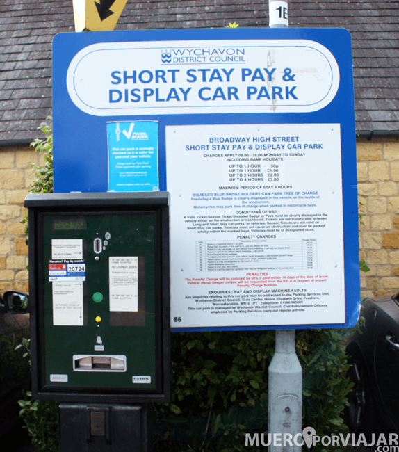 Parking en Los Cotswolds