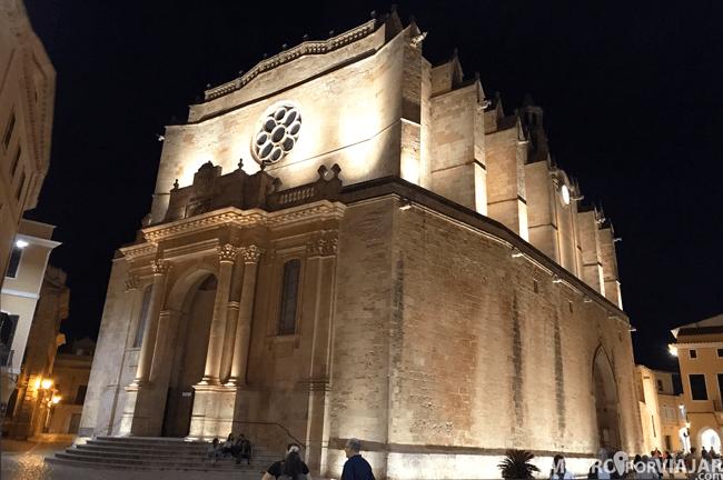 La Catedral de Santa María de Ciudadela en Menorca