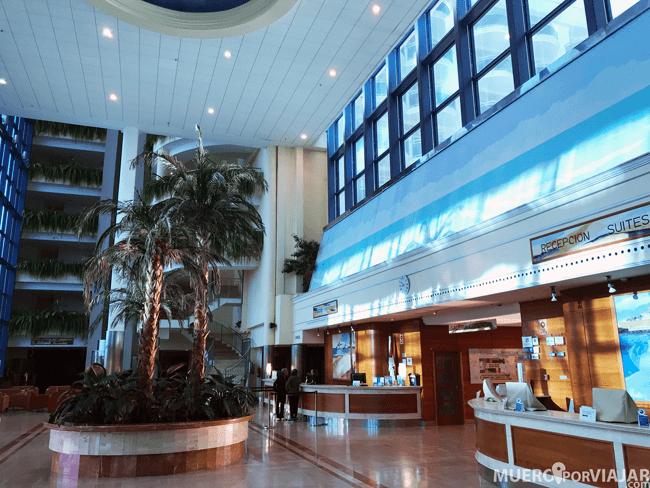 Recepción Hotel & Spa Peñíscola Plaza Suites