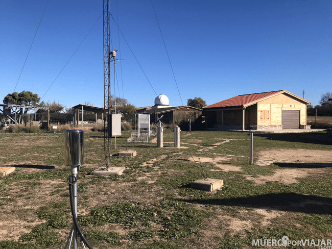 El observatorio meteorológico de Pujalt