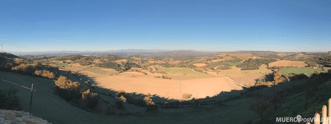 Vistas de la comarca