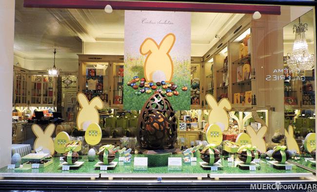 Tienda de chocolate Bruselas