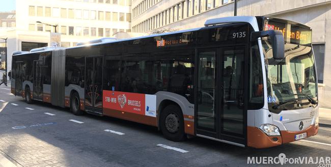 Autobus de Bruselas