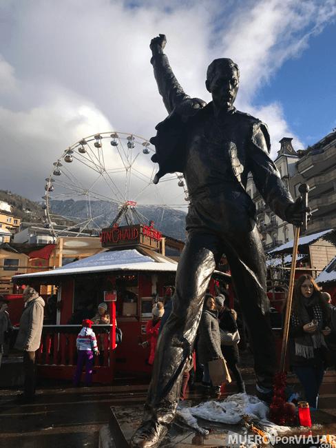 Estatua de Freddie Mercury