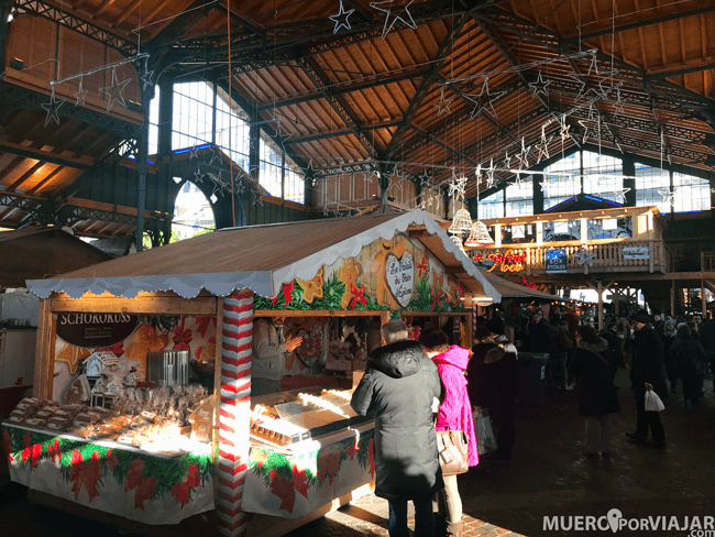Mercado navideño de Montreux