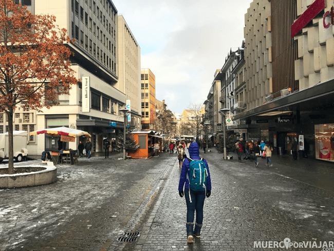 Calles de Frigurgo - Suiza