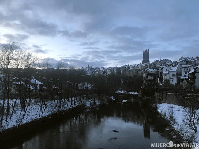 Vistas desde el Pont du Millieu