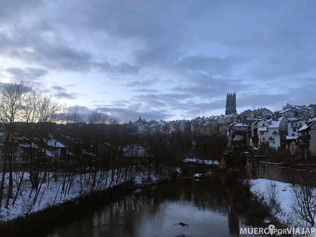 La preciosa ciudad de Friburgo