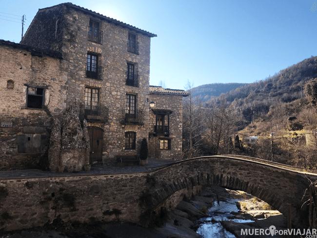 El pueblo de Beget en Girona