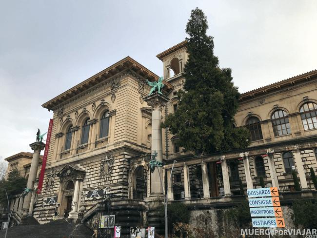 El Palacio de Rumine en Lousanne