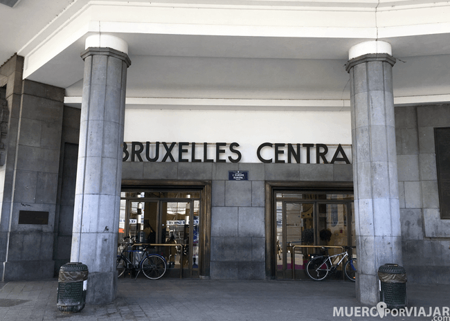 Estación de Bruselas Central