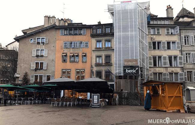 La Plaza Bourg en Ginebra