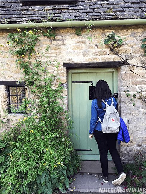 Las puertas de las casas de Bibury son una preciosidad