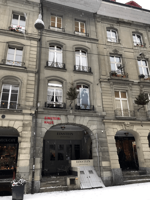 La casa de Einstein en Bern