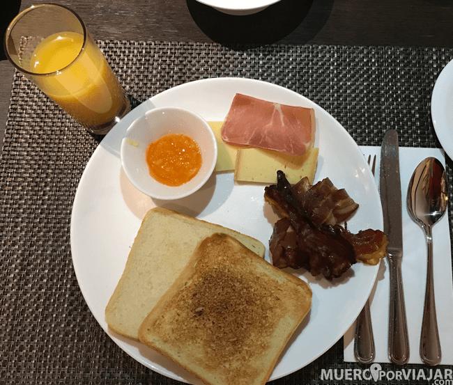 Desayuno Hotel Allegro Bern