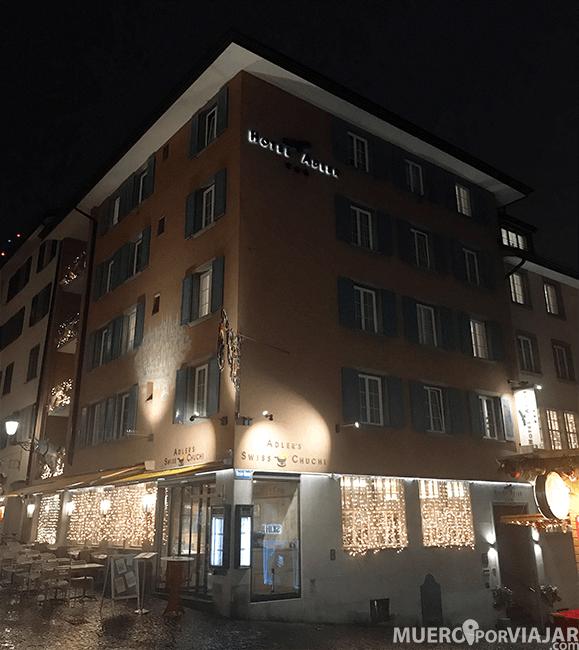 Nuestro hotel en Zurich, el Hotel Alder