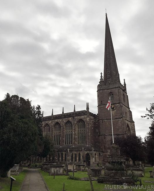 La iglesia de Santa María en Tetbury