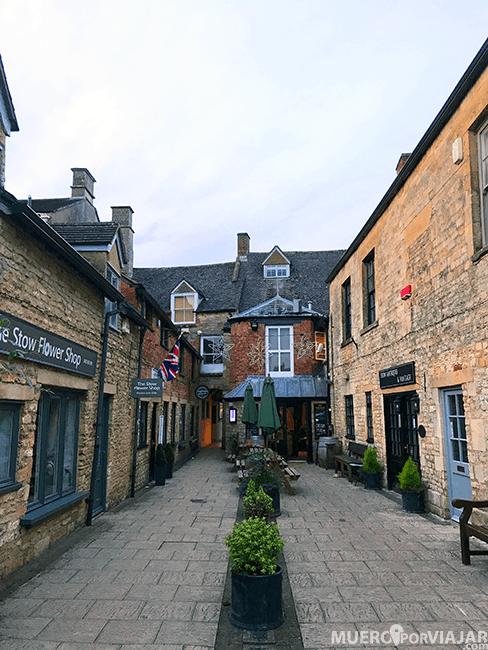 Las preciosas calles de Stow-on-the-wold en los Cotswolds
