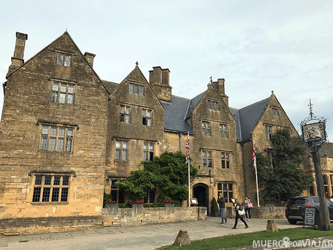 TheLygon Arms Hotel donde se hospedó Oliver Cromwell