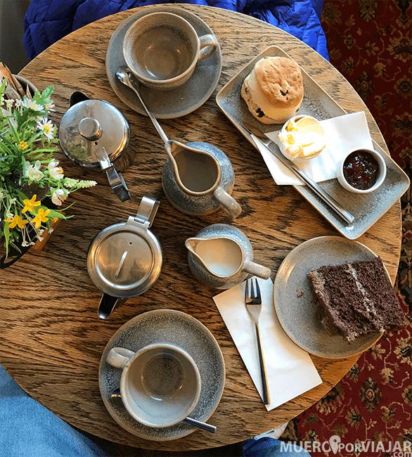 Una experiencia muy british: el afternoon tea