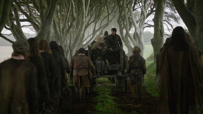 Una de las primeras escenas de Juego de tronos transcurre en Dark Hedges