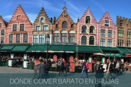 Dónde comer barato en Brujas – Bélgica