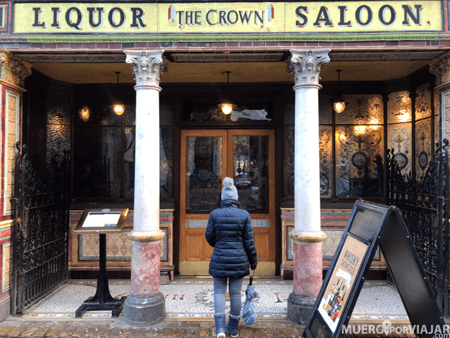 Pub The Crown - Belfast