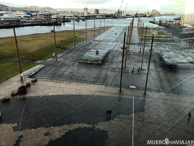 Astilleros donde se creo el Titanic - Belfast