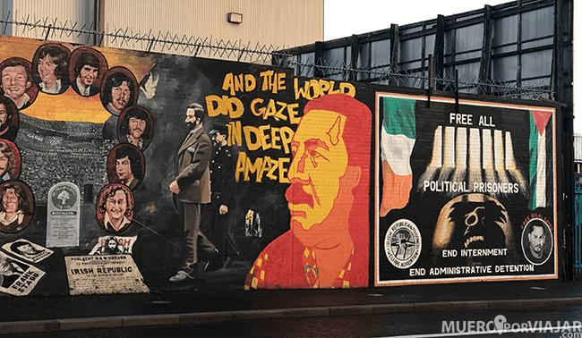 Cada mural es diferente y habla sobre diferentes personajes importantes del movimiento