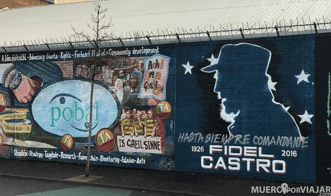 Se pueden encontrar muchos murales con referencia a otros movimientos similares