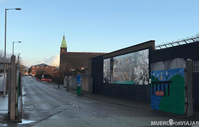Los murales de Belfast son uno de los emblemas de la ciudad