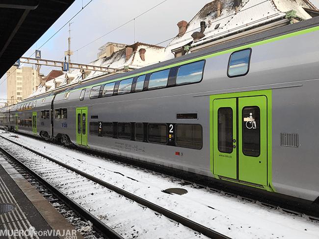 Tren en Suiza