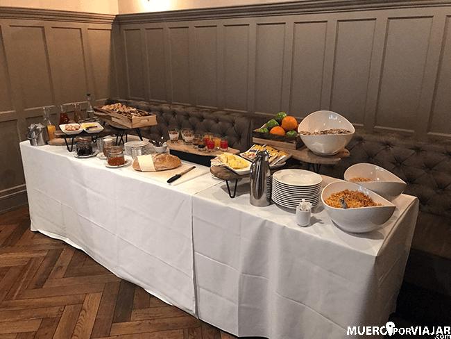 Desayuno en Bishop's Gate Hotel - Derry
