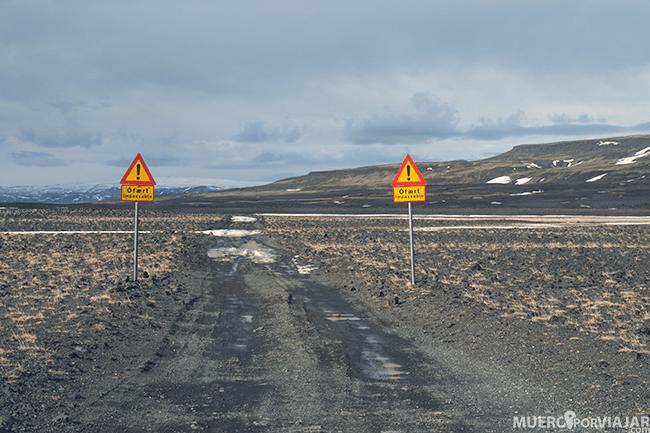 Señalización en Islandia