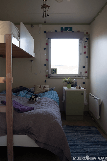 Nuestro alojamiento guesthouse Kaldakinn en Hella