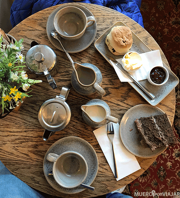 Afternoon tea en Los Cotswolds