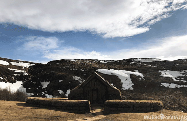 La granja Þjóðveldisbærinn Stöng - Islandia