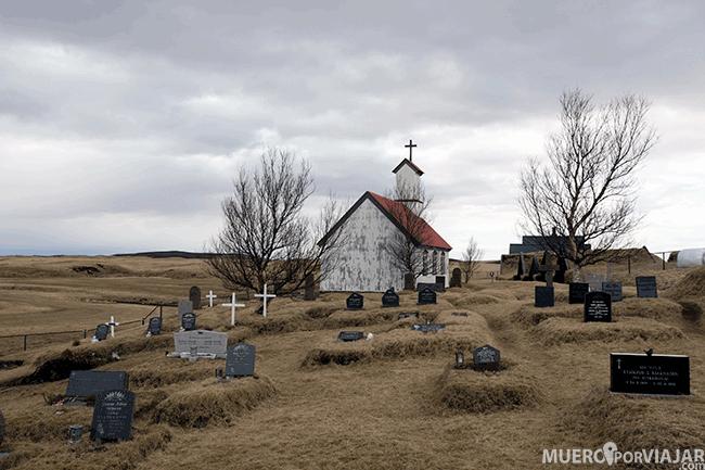 Cementerio de la Iglesia de Keldur - Islandia