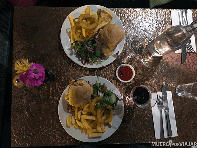Nuestra cena en Stow-on-the-Wold - Los Cotswolds