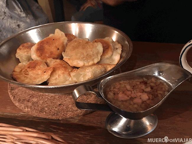 Comida típica de Varsovia