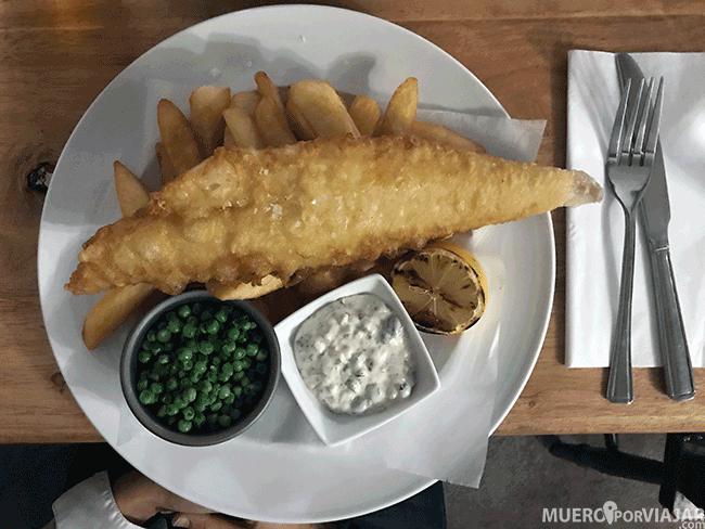Fish & Chips en Los Cotswolds - Inglaterra