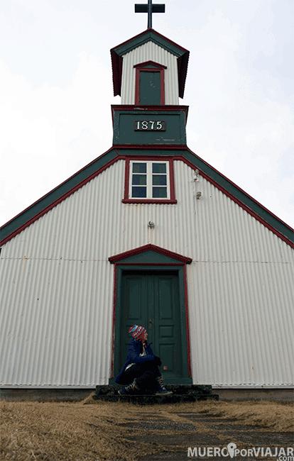 Iglesia de Keldur - Islandia