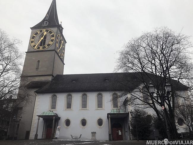 Iglesia de Zurich