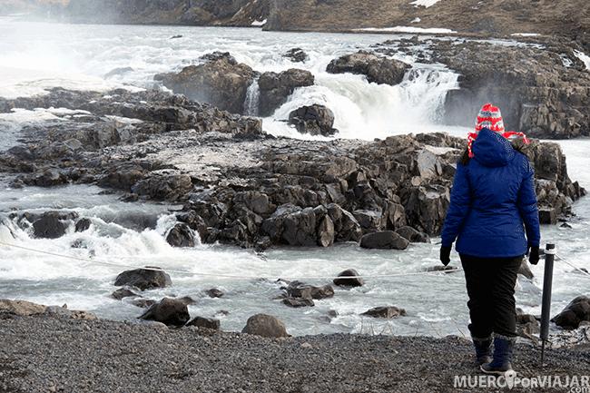Cascada Urriðafoss - Islandia