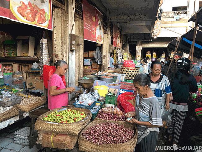Los mercados asiáticos están repletos de especias