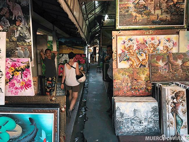 Los mercados de arte son bonitos pero poco prácticos si vas a volver en avión