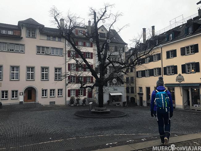 Calles de Zurich